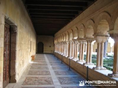 Claustro Monasterio de Silos; mochila para; mochilas diferentes